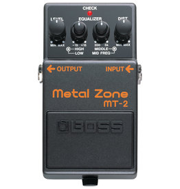 Boss Boss Metal Zone MT-2, Used