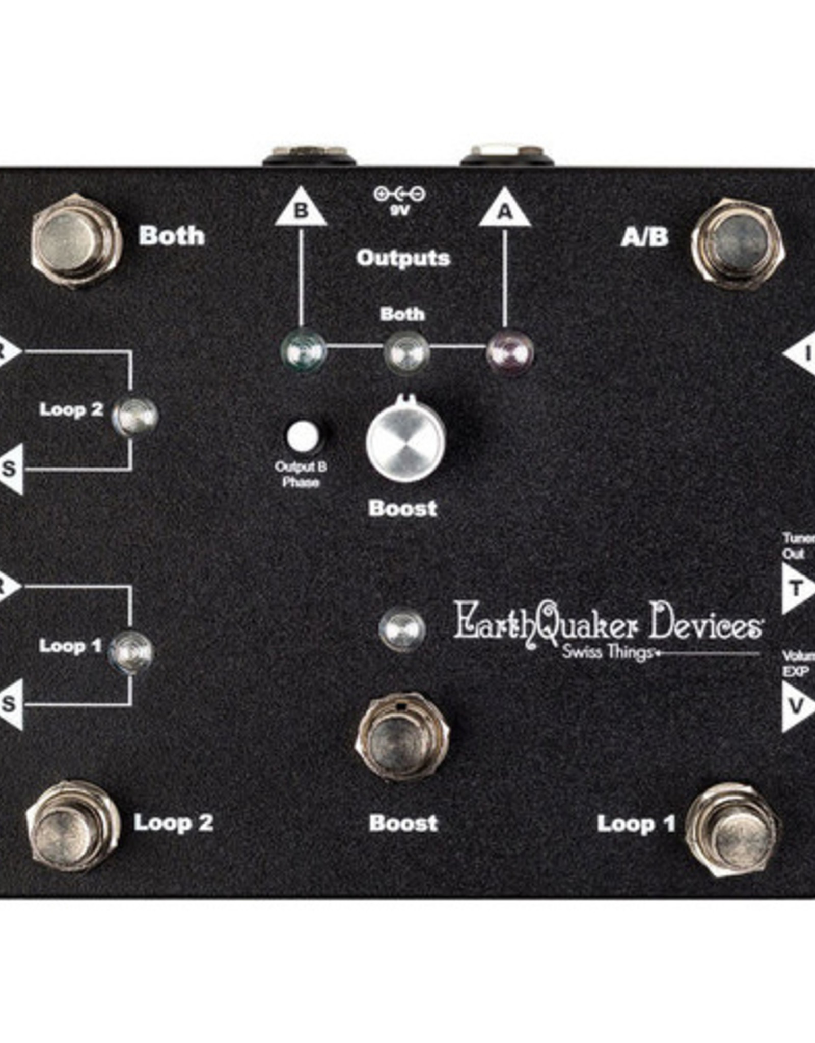EarthQuaker Devices EarthQuaker Swiss Things Pedalboard Reconciler