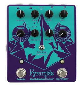 EarthQuaker Devices EarthQuaker Pyramids Stereo Flanger