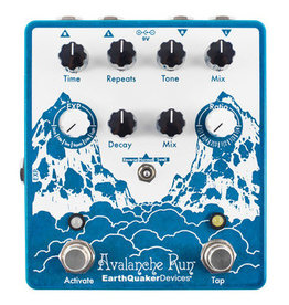 EarthQuaker Devices EarthQuaker Avalanche Run Stereo Delay & Reverb with Tap Tempo V2