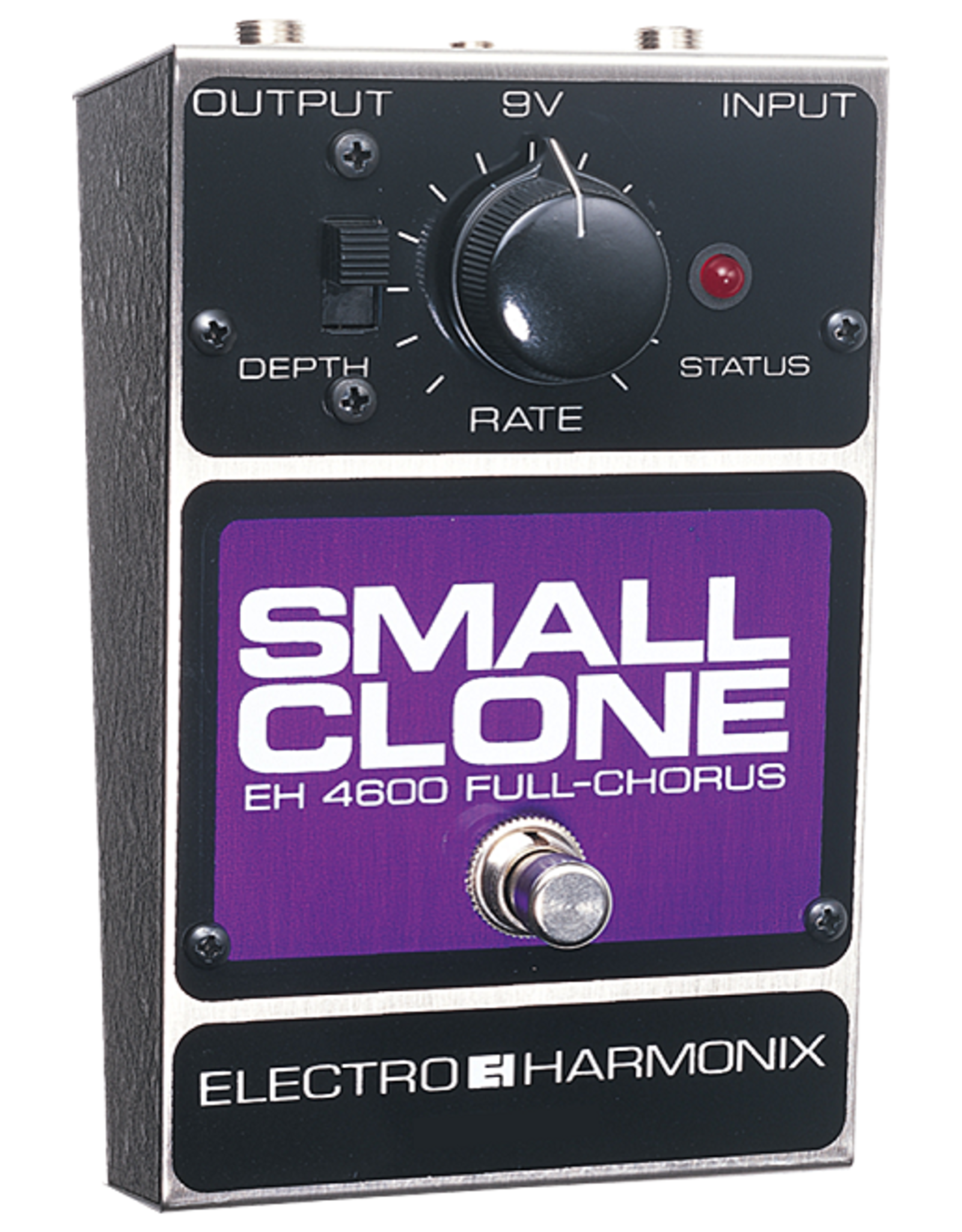 Electro-Harmonix EHX SMALL CLONE Analog Chorus Battery included, 9DC-100 PSU optional