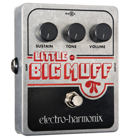 Electro-Harmonix EHX Little Big Muff PI Distortion/Sustainer Battery included, 9.6DC-200 PSU optional