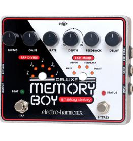 Electro-Harmonix EHX Deluxe Memory Boy Tap Temp Analog Delay, 9.6DC-200 PSU included