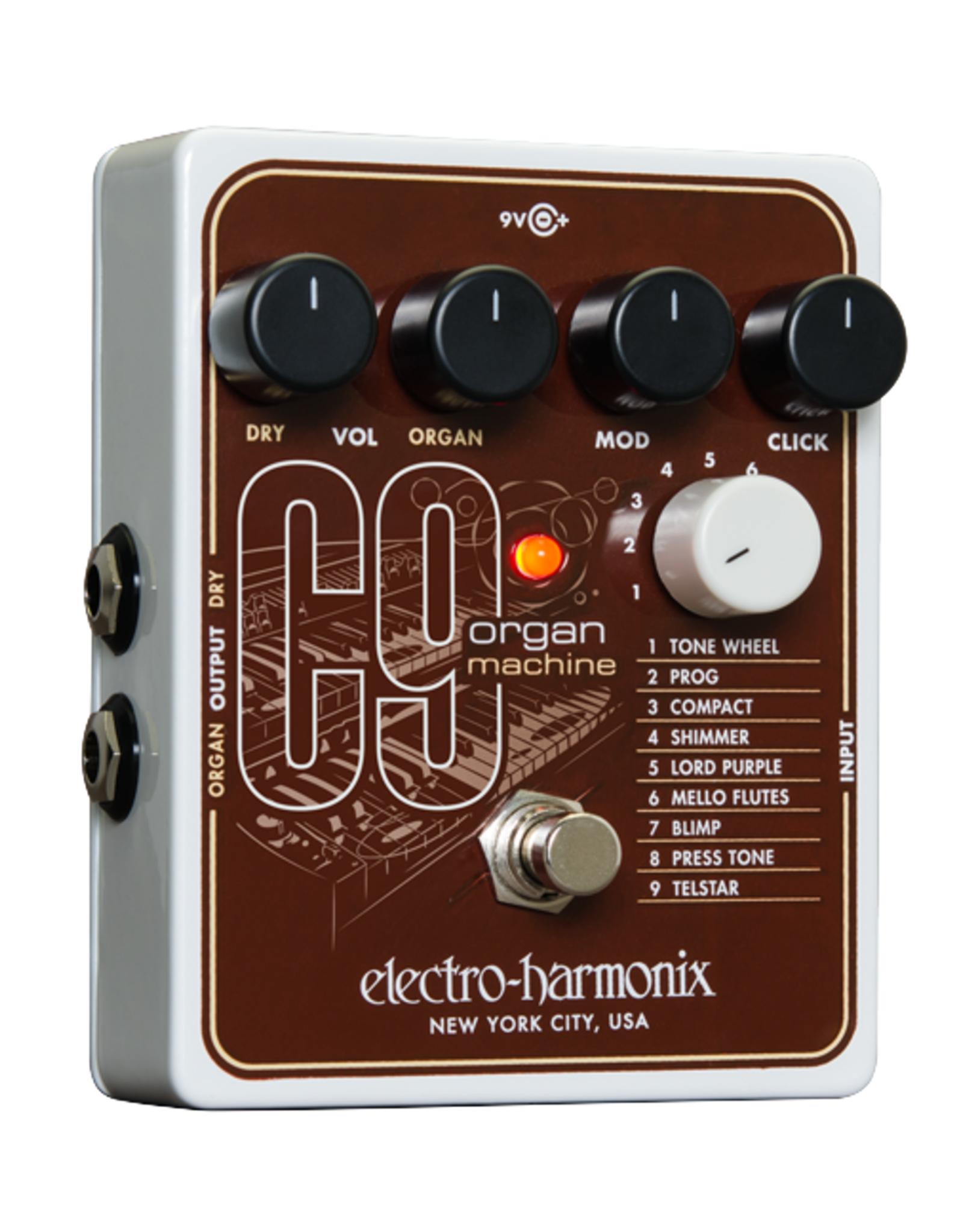 Electro-Harmonix EHX C9 Organ Machine, 9.6DC-200 PSU included