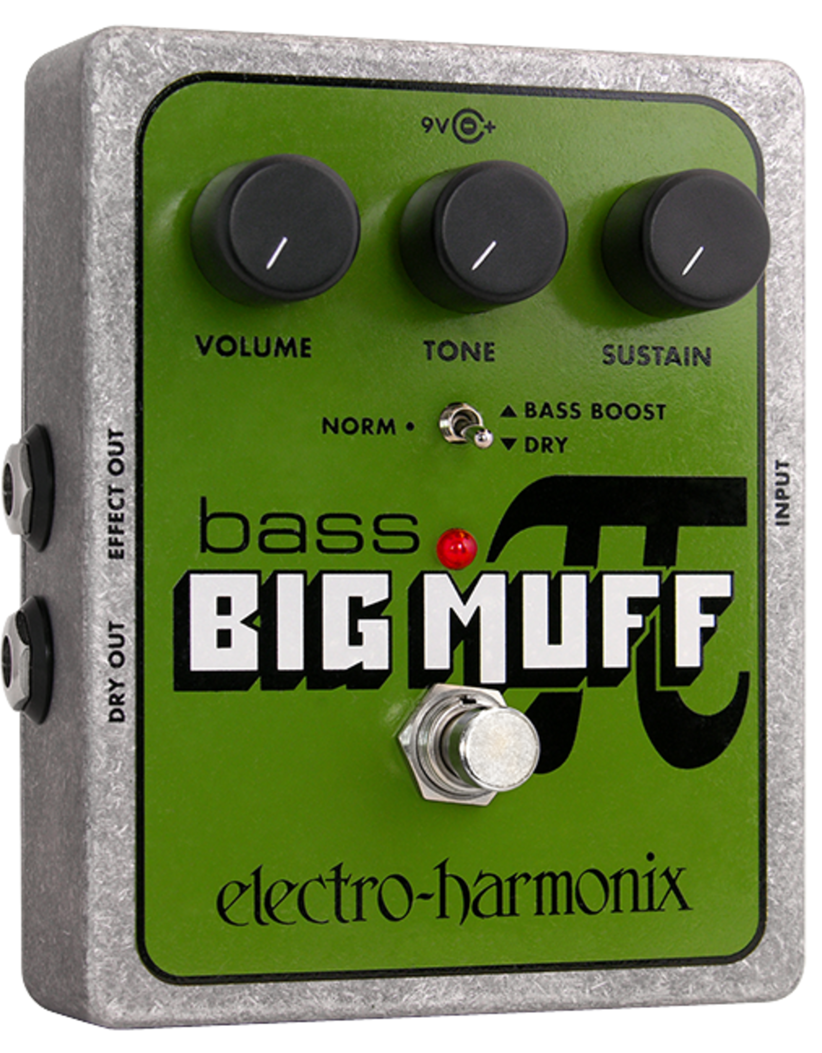Electro-Harmonix EHX BASS BIG MUFF PI Distortion/Sustainer Battery inc, 9.6DC-200 PSU optional