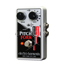 Electro-Harmonix EHX Pitch Fork Polyphonic Pitch Shifter/Harmony Pedal, 9.6DC-200 PSU included