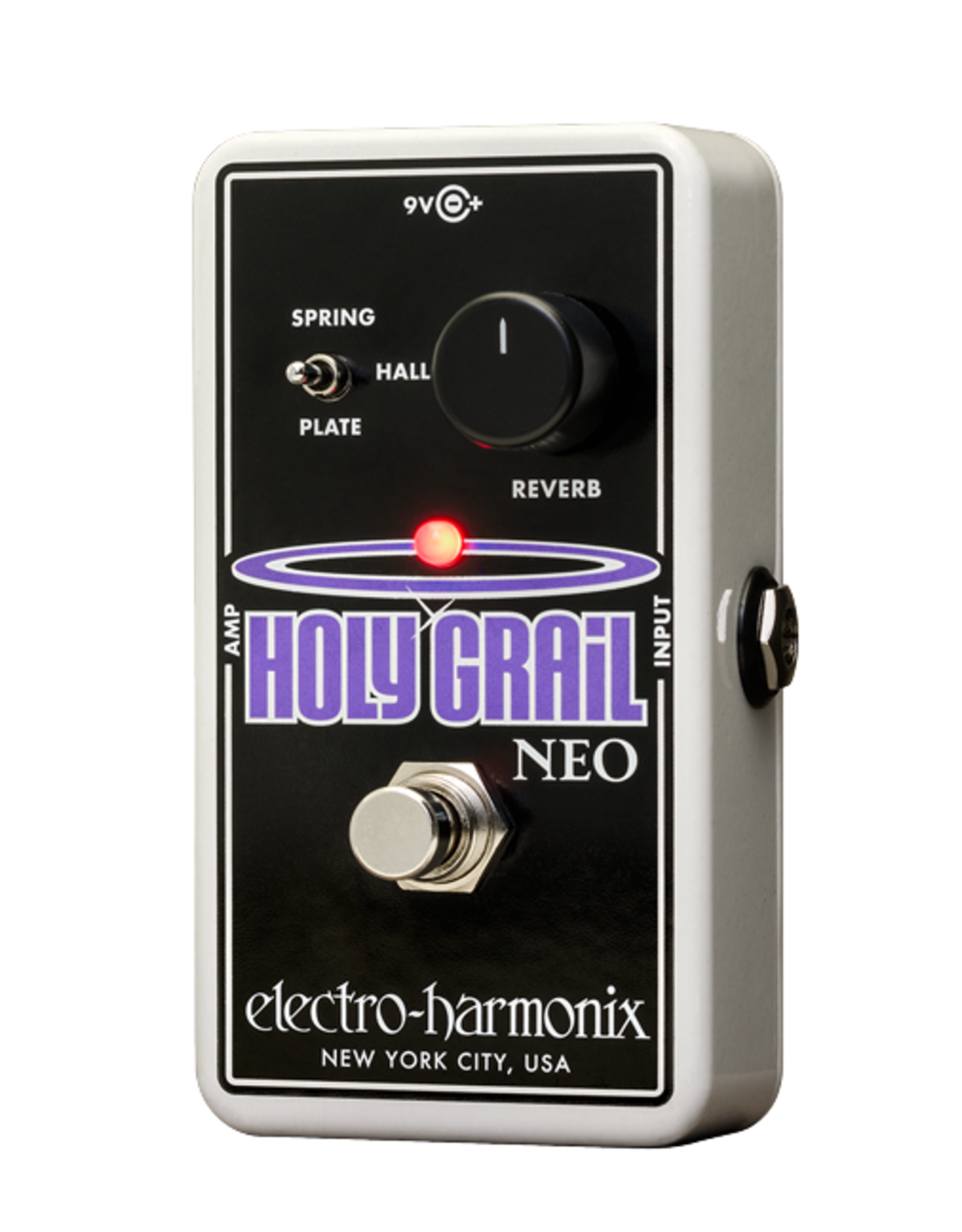 Electro-Harmonix EHX HOLY GRAIL NEO Reverb, 9.6DC-200 PSU included