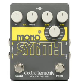 Electro-Harmonix EHX Mono Synth Guitar, 9.6DC-200 PSU Included