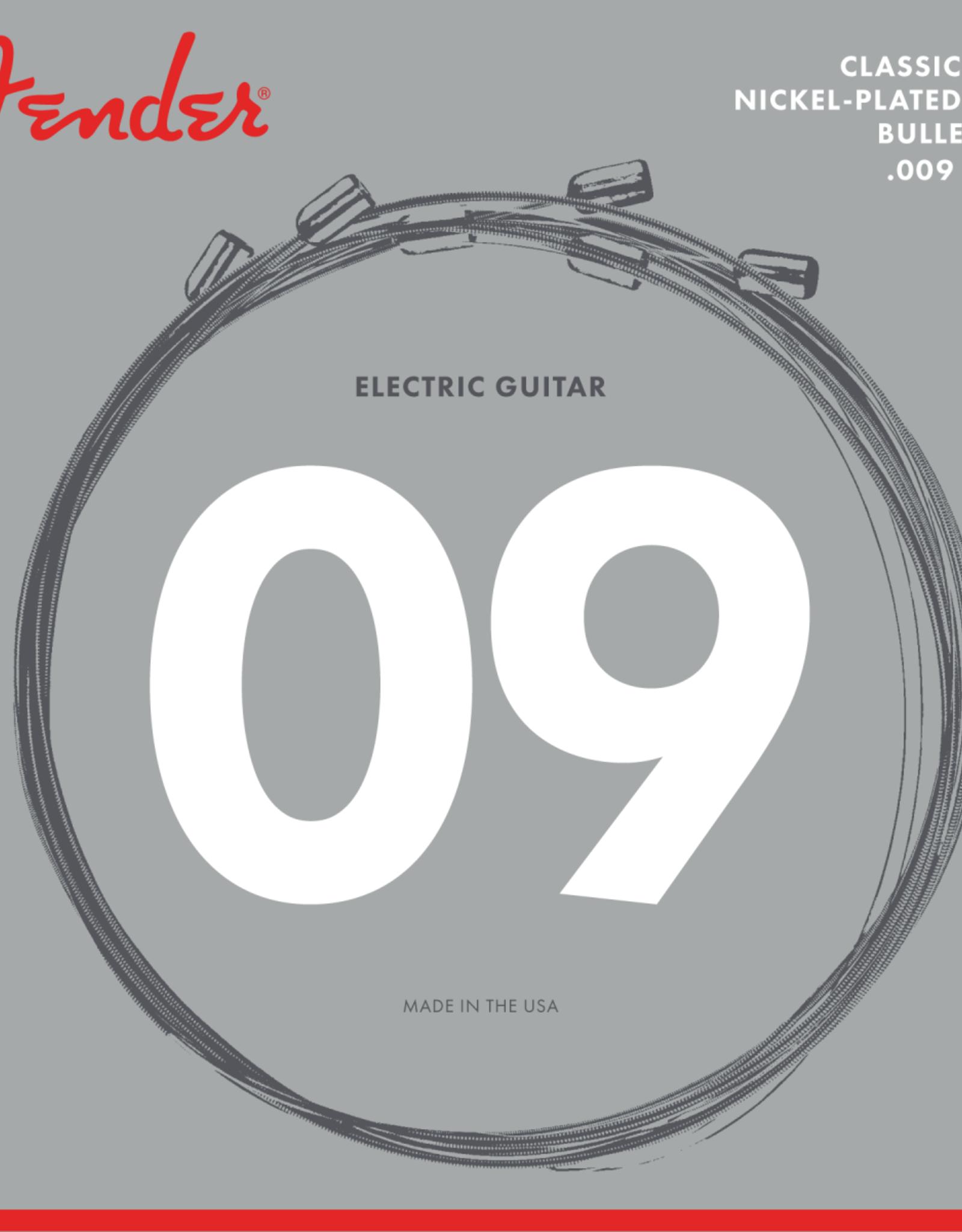 Fender Fender Classic Core Electric Guitar Strings, 3255L, Nickel Plated Steel, Bullet Ends 9-42