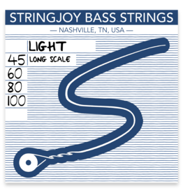Stringjoy Stringjoy Bass Four String Nickel Alloy Light 45-100