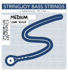 Stringjoy Stringjoy Bass Four String Nickel Alloy Medium 50-105