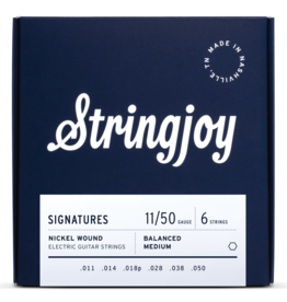 Stringjoy Stringjoy Electric Guitar Nickel Alloy, Balanced Medium 11-50