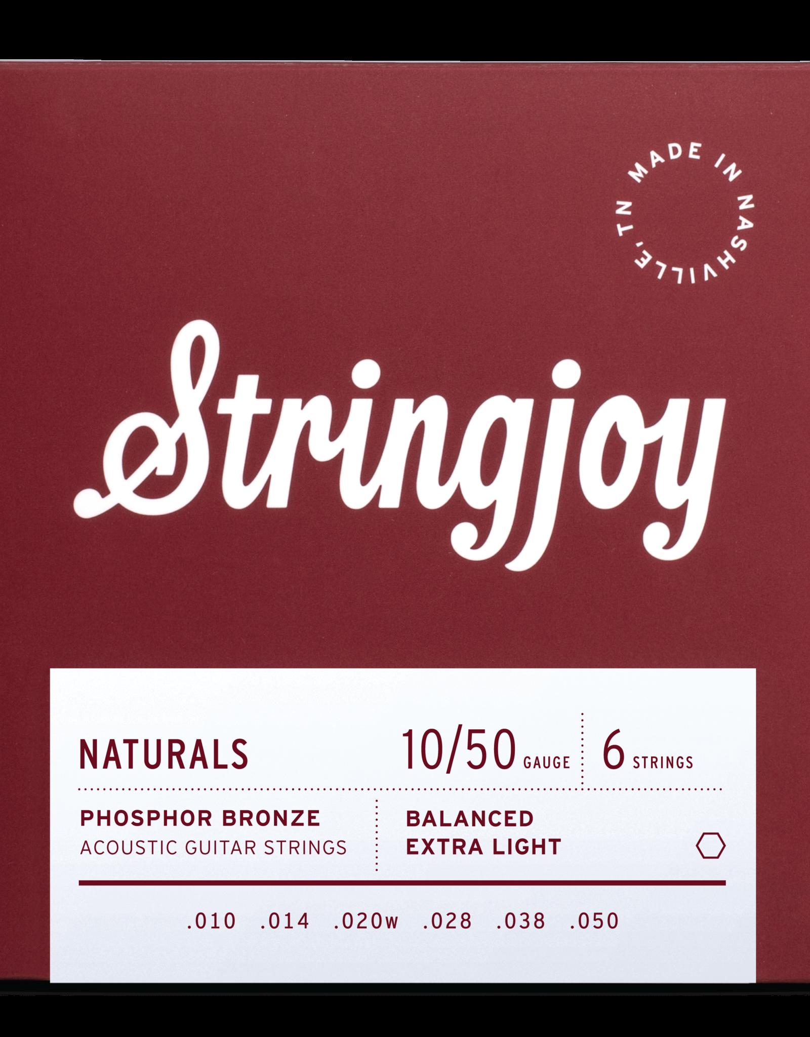 Stringjoy Stringjoy Acoustic  Natural Bronze Extra Light 10-50