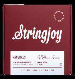 Stringjoy Stringjoy Acoustic Natural Bronze Light 12-54