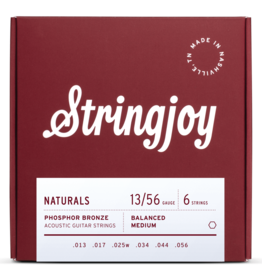 Stringjoy Stringjoy Acoustic Natural Bronze Medium 13-56