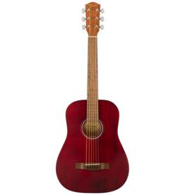 Fender Fender FA-15 3/4 Scale Acoustic Guitar, Red w/gig bag
