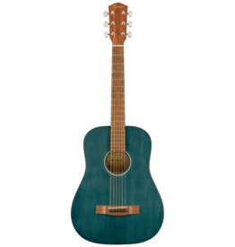 Fender Fender FA-15 3/4 Scale Acoustic Guitar, Blue w/gig bag