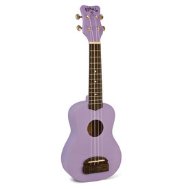 Kohala Kohala Tiki Soprano Uke, Purple