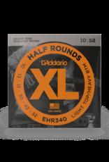 D'Addario D'Addario 10-52 Light Top/Heavy Bottom, XL Half Rounds