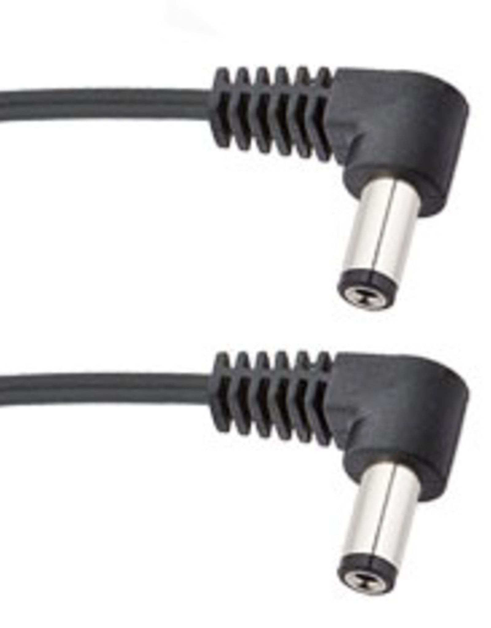 Voodoo Lab Pedal Power Cable 2.1mm Right-Angle on Both Ends: 6 inch