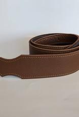 "Franklin Straps Franklin 2"" Purist Glove Leather Guitar Strap/Buck/Caramel"
