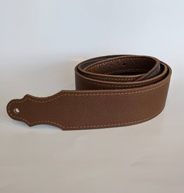 "Franklin Straps Franklin 2"" Purist Glove Leather Guitar Strap/Buck/Caramel"