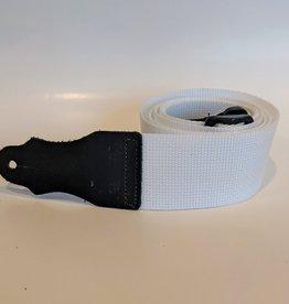 Franklin Straps White Poly Web Guitar Strap