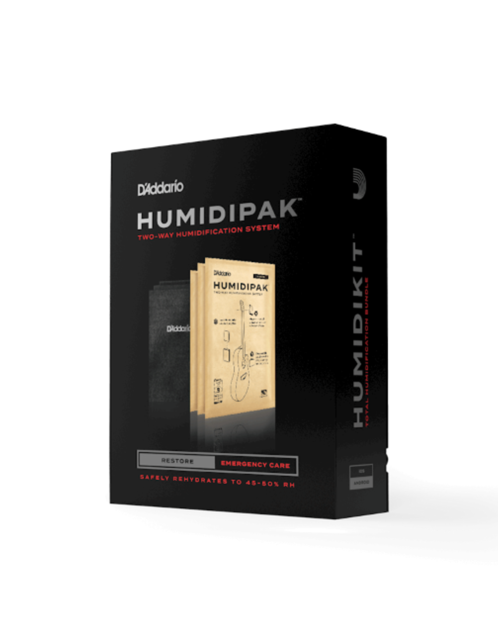 D'Addario Humidipak Restore Kit