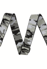 "Fender Fender WeighLess 2"" Gray Camo Strap"