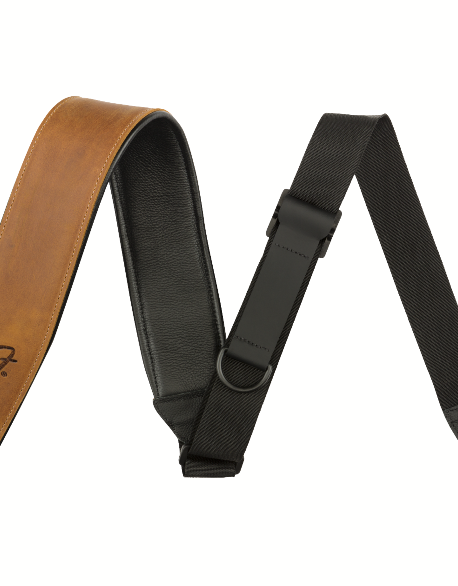 Fender Fender Right Height Leather Strap, Cognac