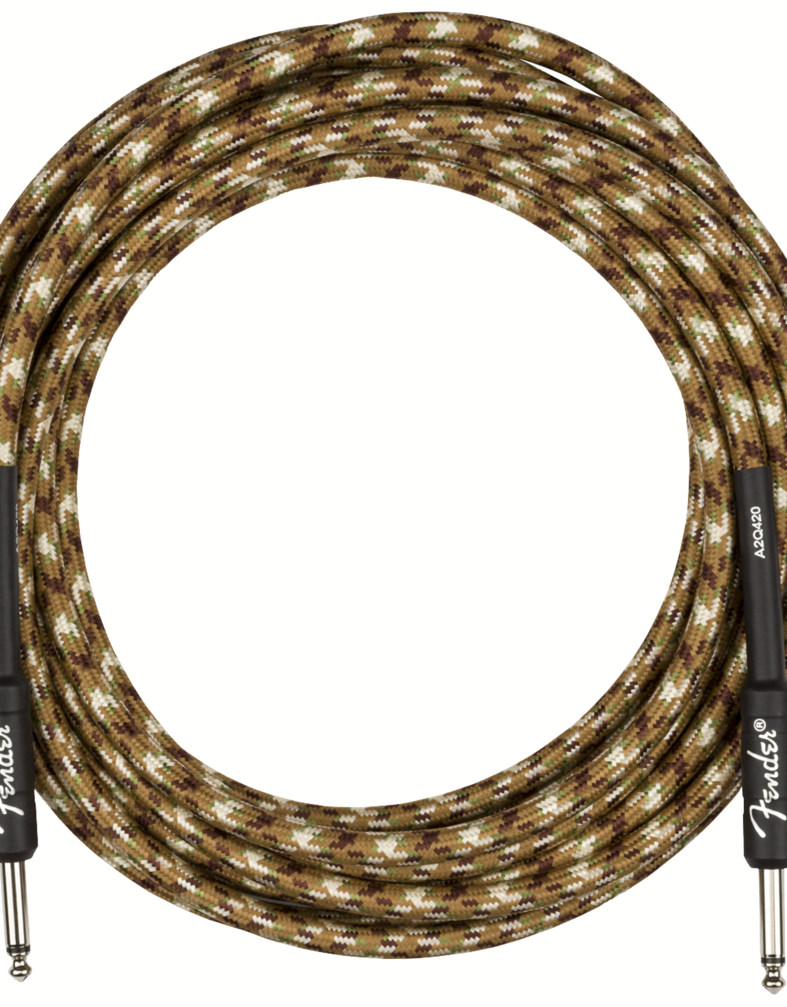 Fender Fender Professional Series Instrument Cable, Straight/Straight, 18.6', Desert Camo
