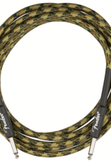 Fender Fender Professional Series Instrument Cable, Straight/Straight, 10', Woodland Camo