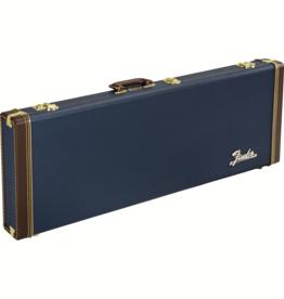 Fender Fender Classic Series Wood Case Strat/Tele, Navy Blue