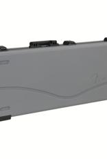 Fender Fender Deluxe Molded Strat/Tele Case, Silver/Blue