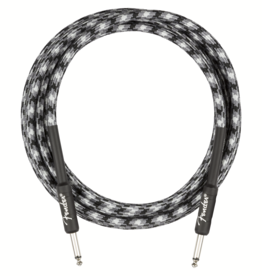 Fender Fender Professional Series Instrument Cable, Straight/Straight, 10', Winter Camo