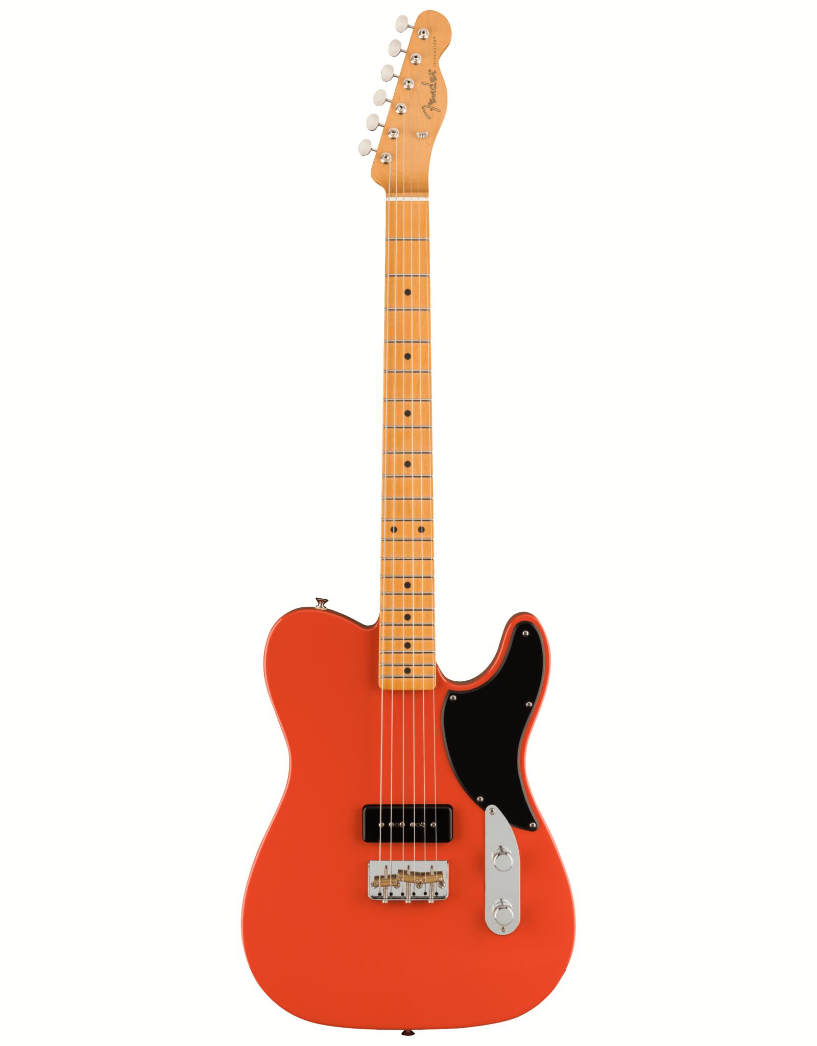 Fender Fender Noventa Telecaster, Maple Fingerboard, Fiesta Red w/ Deluxe Gig Bag