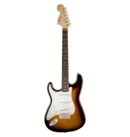 Squier Squier Affinity Series Stratocaster, Left-Handed, Laurel Fingerboard, Brown Sunburst