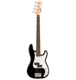 Squier Squier Mini Precision Bass, Laurel Fingerboard, Black