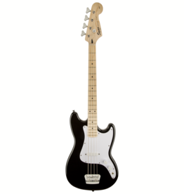 Squier Squier Affinity Series Bronco Bass, Maple Fingerboard, Maple Fingerboard, Black