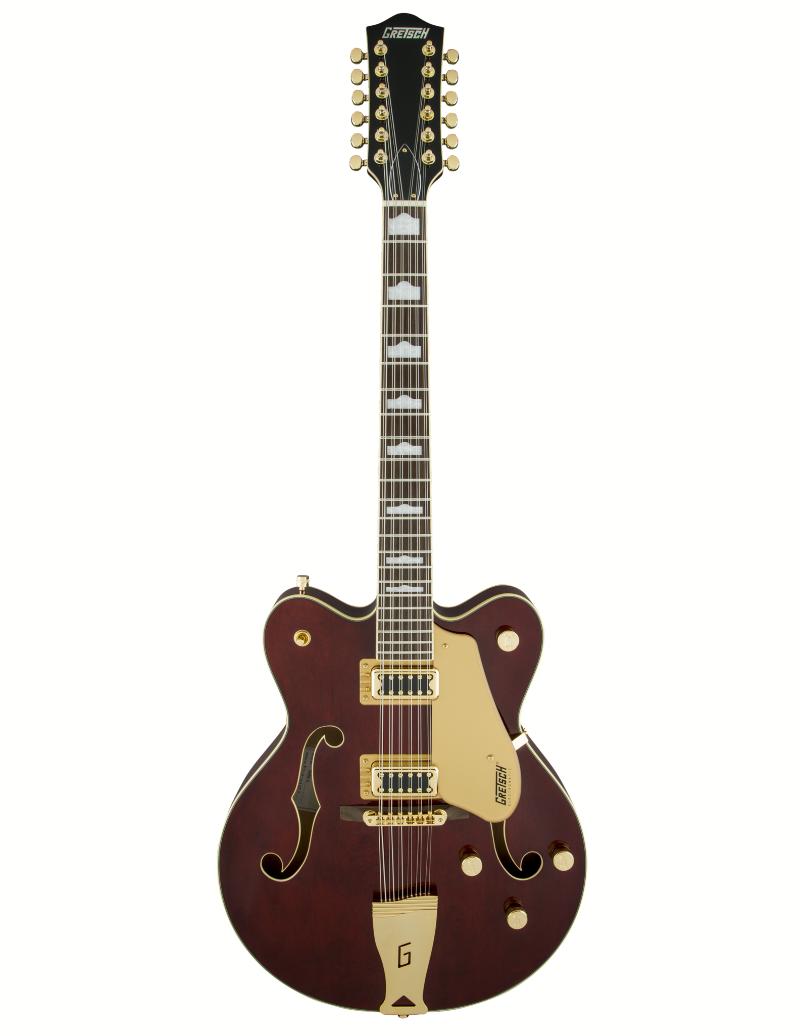 Gretsch Gretsch G5422G-12 Electromatic® Hollow Body Double-Cut 12-String with Gold Hardware, Walnut Stain