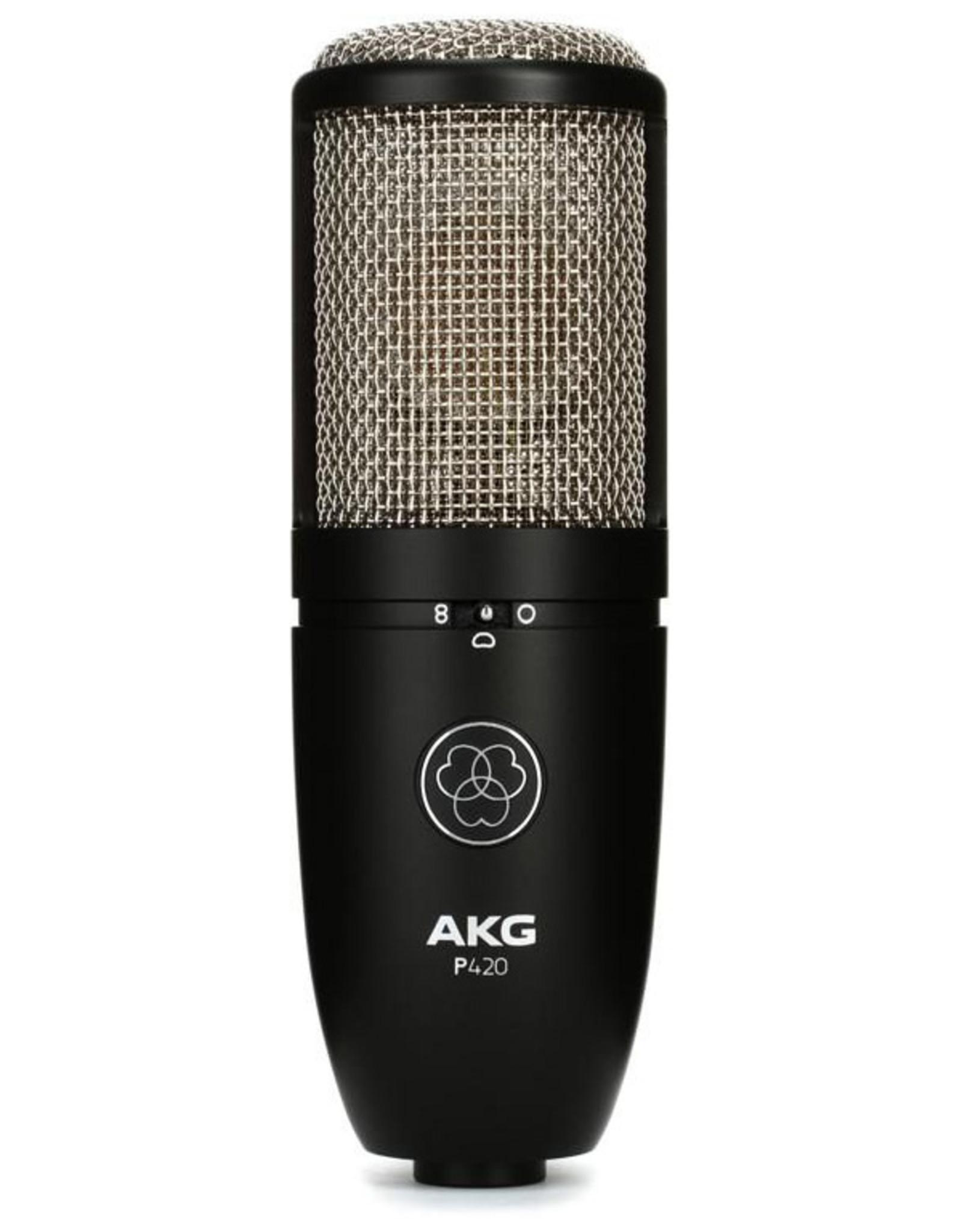 AKG AKG P420 High Perfomance Dual Capsule True Condenser Microphone