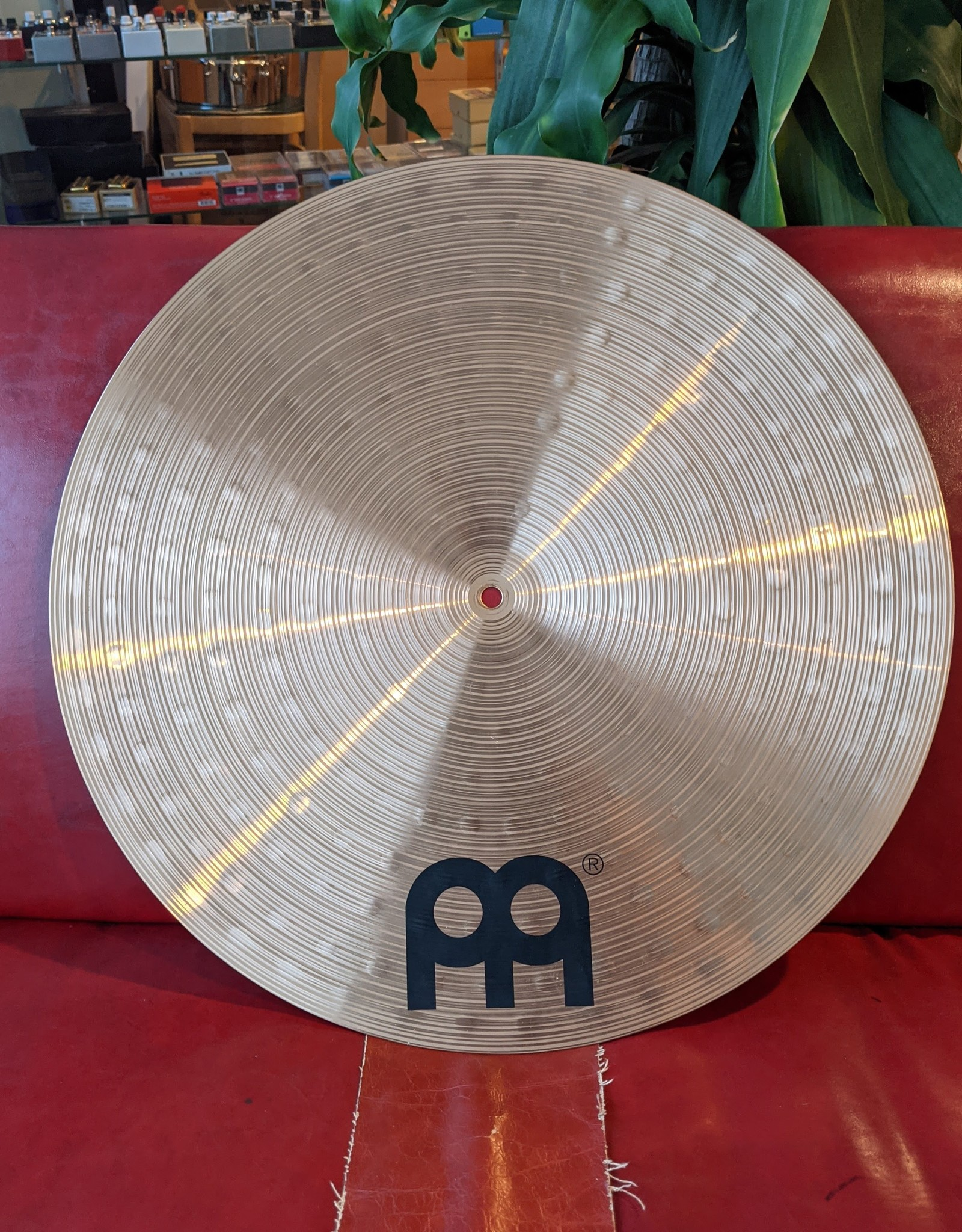 "Meinl Meinl Cast Bronze Classics 20"" Flat Ride, Used"