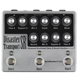 EarthQuaker Devices EarthQuaker Disaster Transport SR Advanced Modulated Delay & Reverb Machine