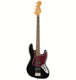 Fender Squier Classic Vibe 60s Jazz Bass, Black, Laurel Fingerboard
