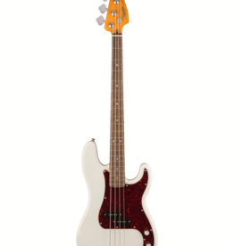 Squier Squier Classic Vibe '60s Precision Bass, Olympic White, Laurel FB
