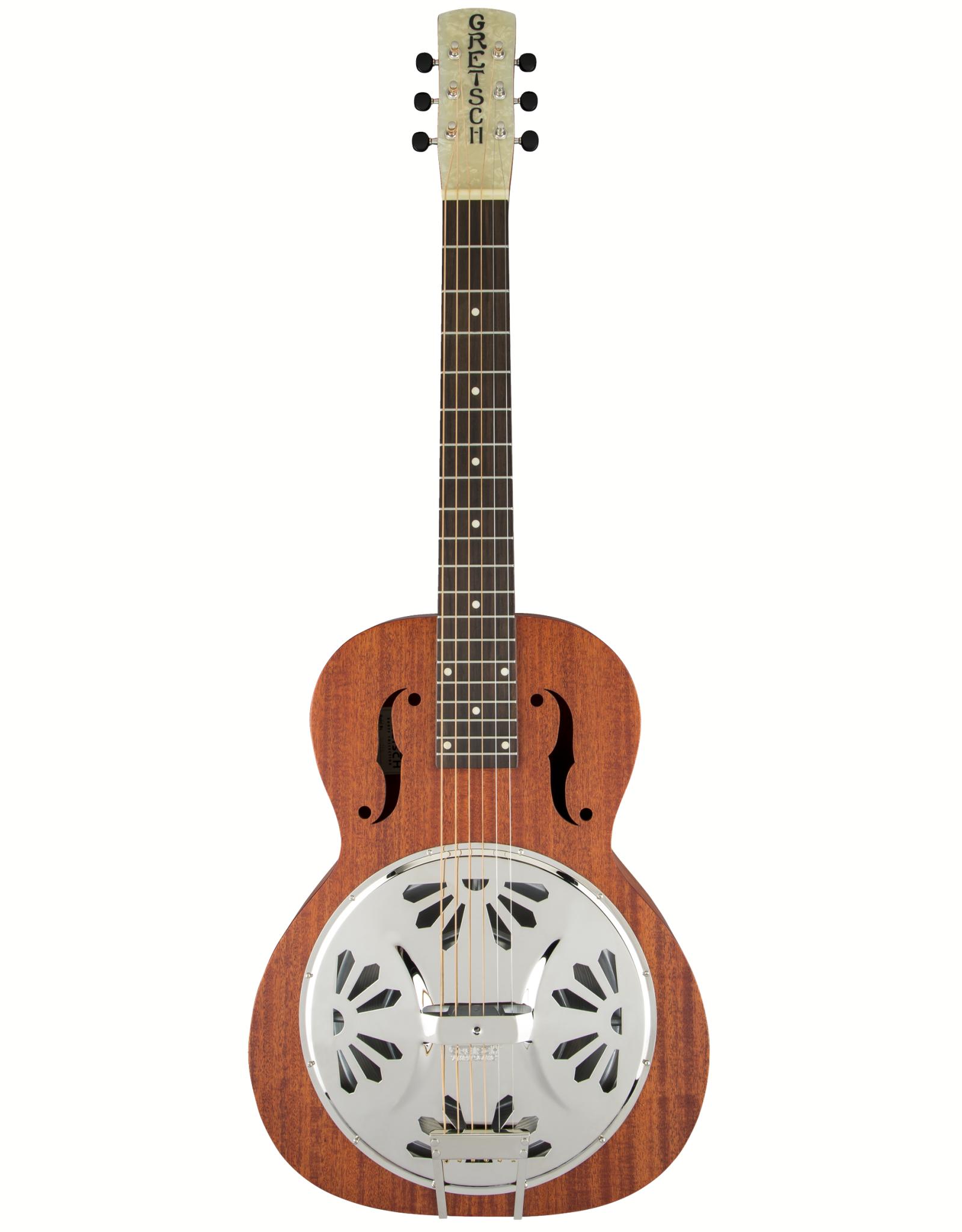 Gretsch Gretsch G9210 Boxcar Square-Neck, Mahogany Body Resonator Guitar, Natural