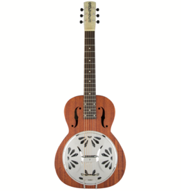 Gretsch Gretsch G9210 Boxcar Square-Neck, Mahogany Body Resonator Guitar, Natural