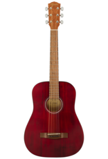 Fender Fender FA-15 3/4 Scale Acoustic Guitar, Red w/gig bag