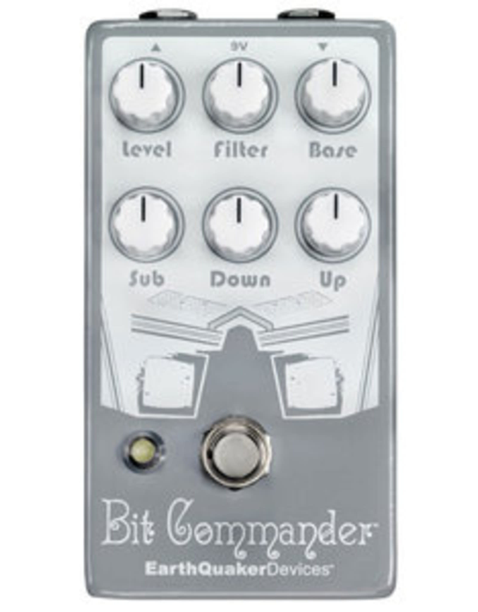 EarthQuaker Devices EarthQuaker Bit Commander Octave Synth V2