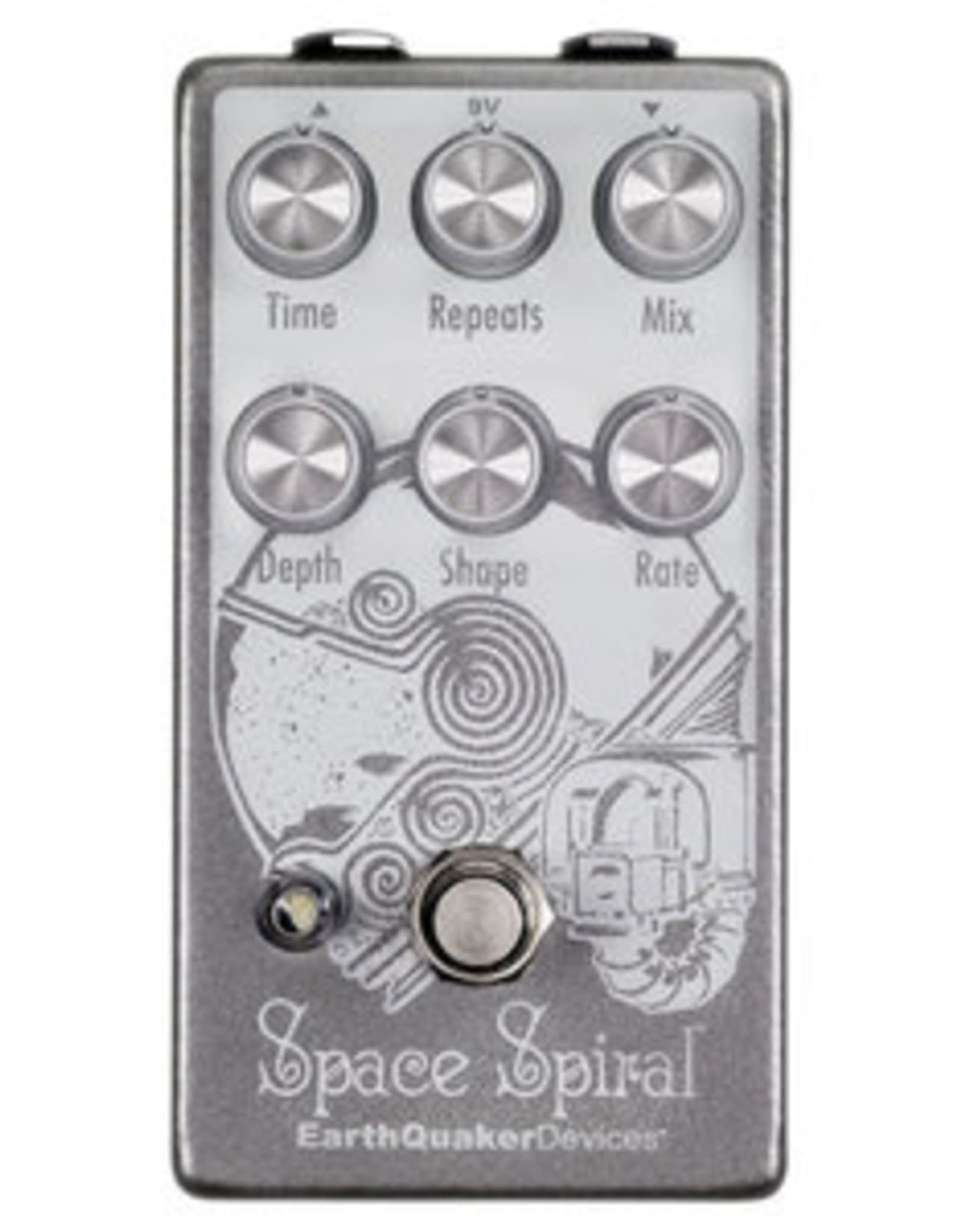 EarthQuaker Devices EarthQuaker Space Spiral  Modulated Delay V2